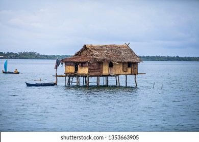 Wakatobi, Indonesia : The Bajo Tribe Village and its people activities in Wang-Wangi Island, Wakatobi, South East Sulawesi, Indonesia. Bajo Tribe is a tribe that live in the coastal area (10/2012).