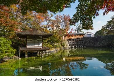 Wakayama - Nov. 17,18: Momijidani Garden inside of Wakayama Castle