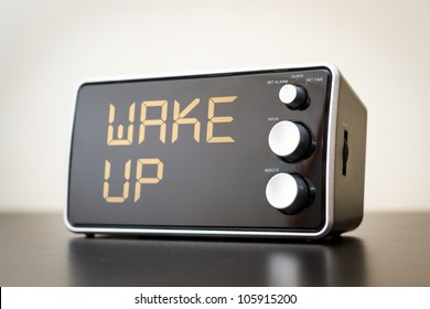 Wake Up Alert / Clock