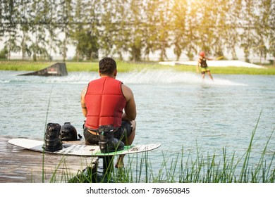 Wakeboard or sports.