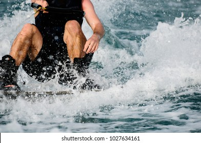 Wakeboarding  in the Bahraini seas!