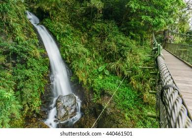 Walami Hiking Trail and the Cabin at Hualien , Taiwan