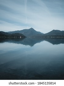 Walchensee in Bayern. Water Refelctions