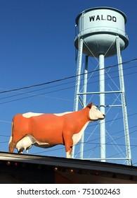 Waldo Arkansas water tower