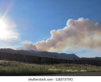 Waldo Canyon Fire Smoke Plume