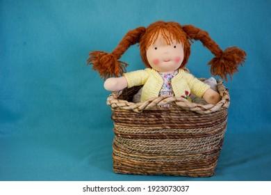 Waldorf Doll Handmade Steiner Doll Handmade Doll Artisan Doll , Woman Maker Waldorf Puppen , Organic Toy Natural Baby Boho Poupée Minimal Bez Bebek
