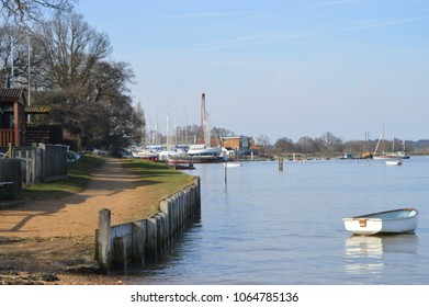Waldringfield by the River Deben Suffolk