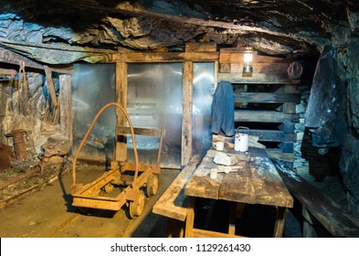 Walhalla, Australia - October 18, 2015: Long Tunnel Extended Mine is a former 19th century gold mine in Gippsland, now a major tourist attraction.