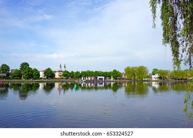 A walk along the Netta River in Augustow, Poland.