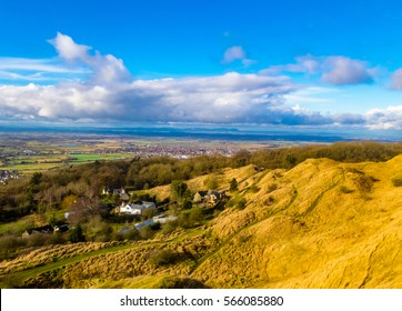 A walk up Cleeve Hill near Cheltenham in Gloucestshire, with Cleeve Hill being the highest point in the Cotwolds