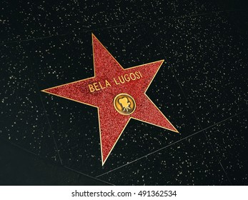 Walk of Fame, Bela Lugosi