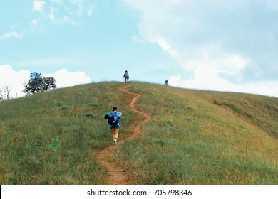 Walk up the hill