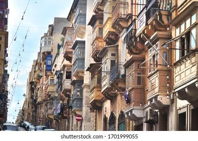 Walk in Malta, culture et harmony of oldcity