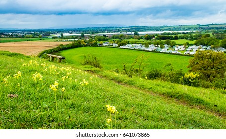 A walk in May along the river avon and Cleeve hill in Worcestershire