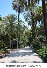 Walk in mediterranean paradise