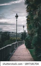 Promenez-vous sur le boulevard des Pyrénées, à Pau.