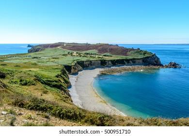 A walk on the cliffs around Camaret, Presqu-il de Crozon, Brittany, France
