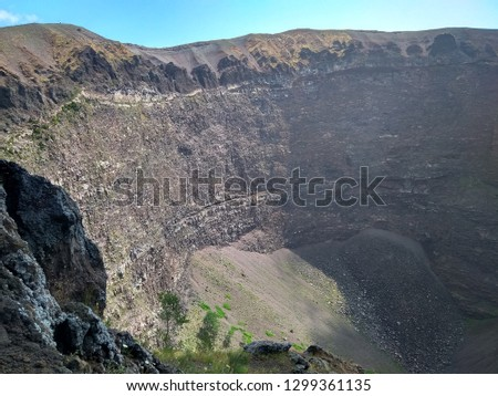 Walk on the crater