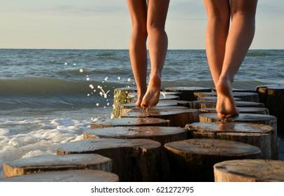 walk over the ocean