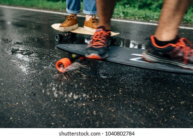 walk in the park on skateboards