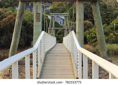 walk path and bridge