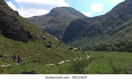Walk to Steall Falls, Glen Nevis, Scotland.