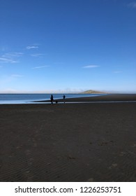 The walk from Sutton to Howth along the coast in Dublin, Ireland.