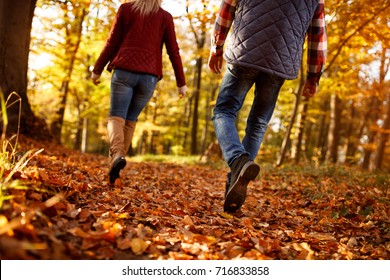 walk through park- love, travel, relationship and dating concept