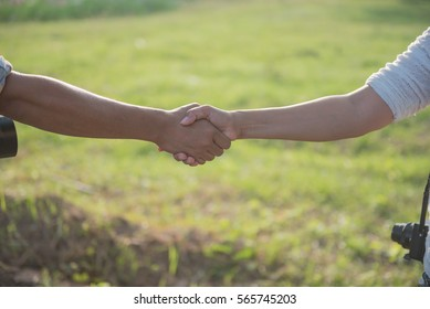 Walk together hand in hand