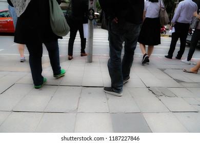 Walk  in town
