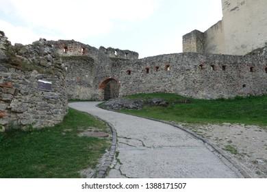 walk in the trencin castle