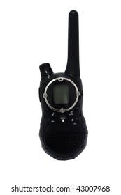 walkie talkie isolated