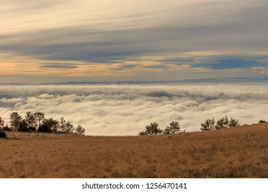 Walking above the clouds is a luxury