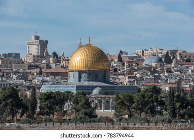 Walking around Jerusalem