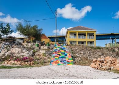 Walking the back streets of Otrobanda   Views arund the small caribbean Island of Curacao