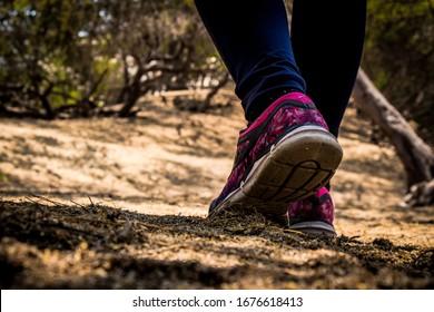 WALKING BETWEEN DUNES