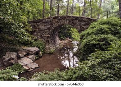 Walking Bridge At Garvan Woodland Gardens