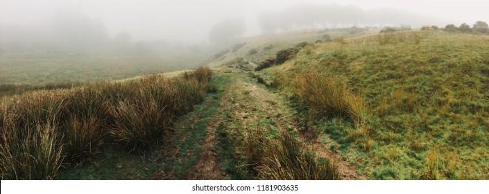 Walking in Dartmoor, Devon