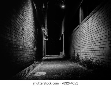 Walking Down a Dark Alley