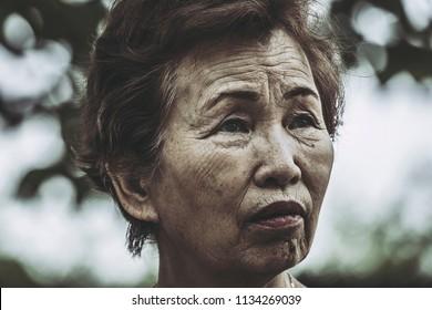 Walking in elderly women