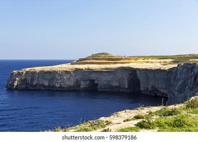 Walking in Gozo, Malta