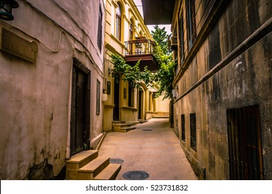 Walking on empty in old town of Jerusalem city. City buildings street design background. Empty Old City Jerusalem buildings street. Old Town Ancient cities design background. Old cities image