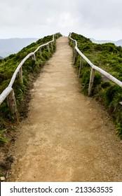 Walking path to heaven