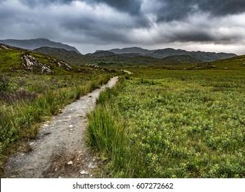Walking Path, Mallaig, Scotland