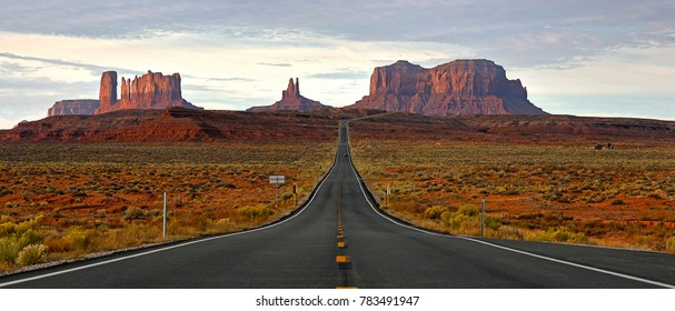 Walking the Road to Monument Valley