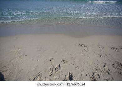 Walking to the sea - Villasimius, a sandy bay in the wonderful Sardinia