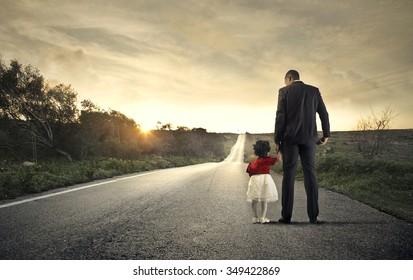 Walking through childhood