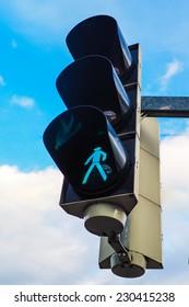 walking traffic light