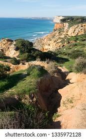 Walking trails in Lagos, Algarve, Portugal