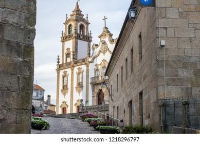 Walking in Viseu, Portugal